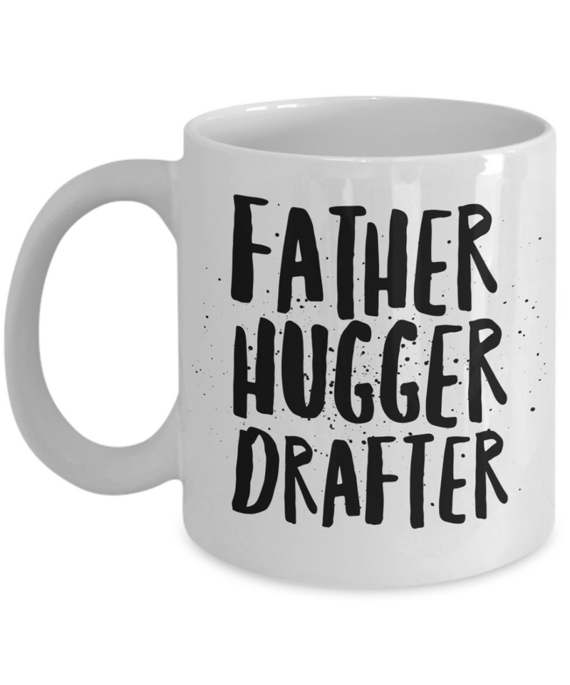 Father Hugger Drafter Gag Gift for Coworker Boss Retirement or Birthday - Ribbon Canyon