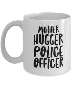 Mother Hugger Police Officer Gag Gift for Coworker Boss Retirement or Birthday - Ribbon Canyon