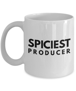 Spiciest Producer - Birthday Retirement or Thank you Gift Idea -   11oz Coffee Mug - Ribbon Canyon