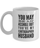 You May Be An Asshole But You'Re My Cartographer Husband, 11oz Coffee Mug Gag Gift for Coworker Boss Retirement or Birthday - Ribbon Canyon