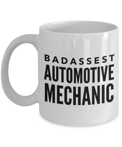 Badassest Automotive Mechanic Gag Gift for Coworker Boss Retirement or Birthday - Ribbon Canyon
