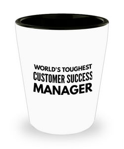 Friend Leaving Novelty Short Glass for Customer Success Manager