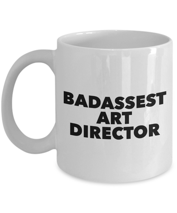 Badassest Art Director Gag Gift for Coworker Boss Retirement or Birthday - Ribbon Canyon