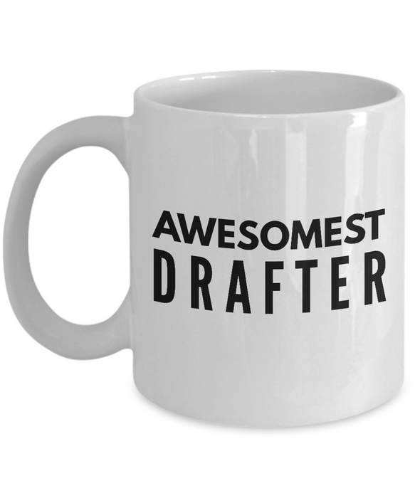 Awesomest Drafter - Birthday Retirement or Thank you Gift Idea -   11oz Coffee Mug - Ribbon Canyon