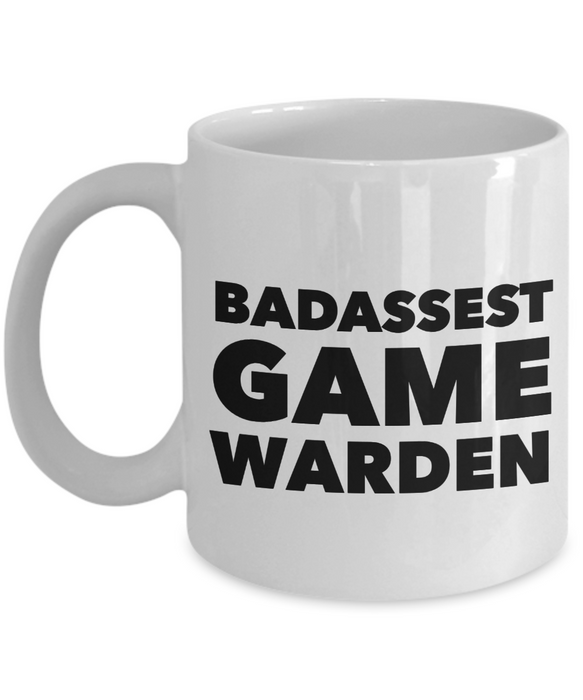 Badassest Game Warden Gag Gift for Coworker Boss Retirement or Birthday - Ribbon Canyon