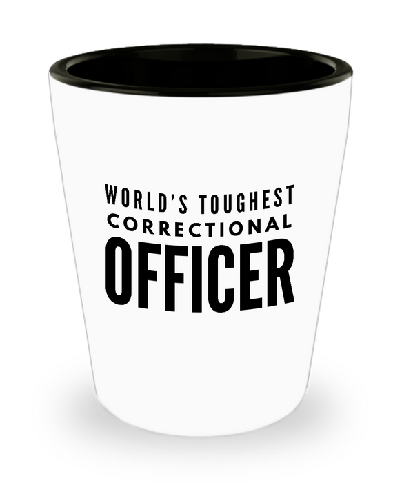 Friend Leaving Novelty Short Glass for Correctional Officer