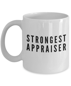 Strongest Appraiser - Birthday Retirement or Thank you Gift Idea -   11oz Coffee Mug - Ribbon Canyon