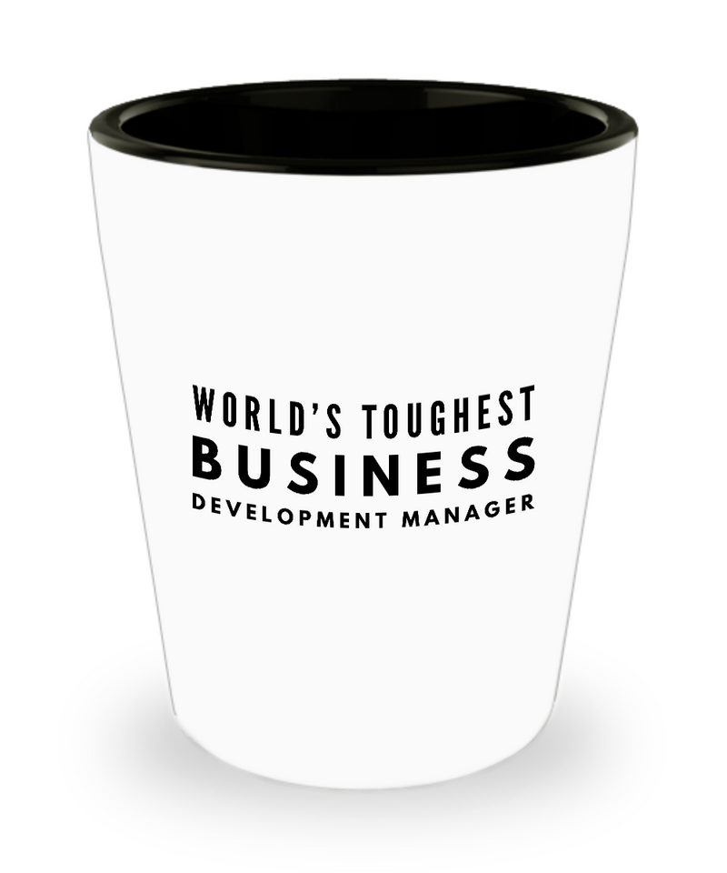 Friend Leaving Novelty Short Glass for Business Development Manager