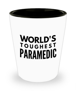 Friend Leaving Novelty Short Glass for Paramedic