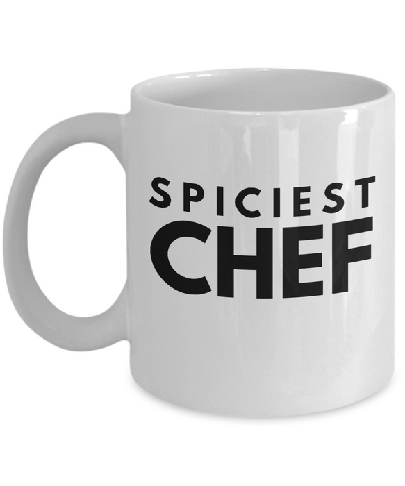 Spiciest Chef - Birthday Retirement or Thank you Gift Idea -   11oz Coffee Mug - Ribbon Canyon