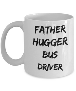 Father Hugger Bus Driver Gag Gift for Coworker Boss Retirement or Birthday - Ribbon Canyon