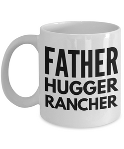 Father Hugger Rancher Gag Gift for Coworker Boss Retirement or Birthday - Ribbon Canyon