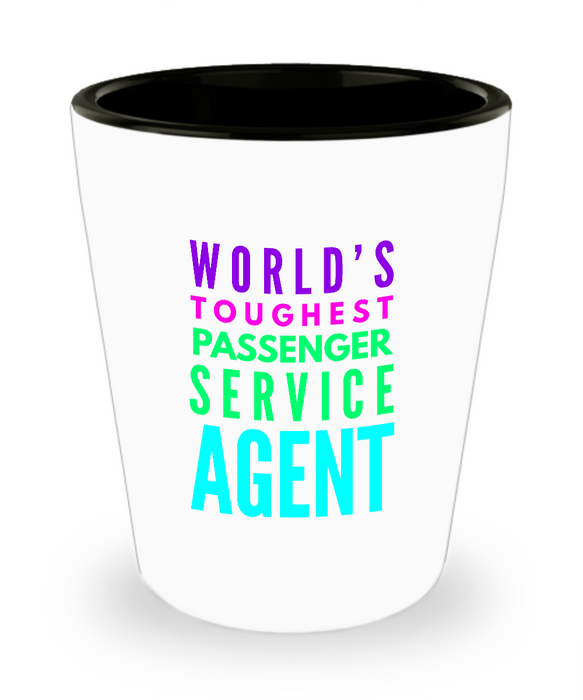 Creative Passenger Service Agent Short Glass - Ribbon Canyon