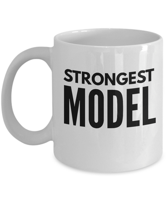 Strongest Model - Birthday Retirement or Thank you Gift Idea -   11oz Coffee Mug - Ribbon Canyon