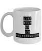 Just Shut Up I'm Chiropractor, 11Oz Coffee Mug Unique Gift Idea for Him, Her, Mom, Dad - Perfect Birthday Gifts for Men or Women / Birthday / Christmas Present - Ribbon Canyon