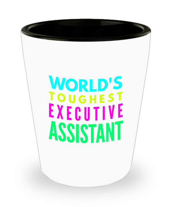 Creative Executive Assistant Short Glass - Ribbon Canyon