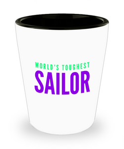 Creative Sailor Short Glass - Ribbon Canyon