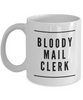 Bloody Mail Clerk Gag Gift for Coworker Boss Retirement or Birthday - Ribbon Canyon
