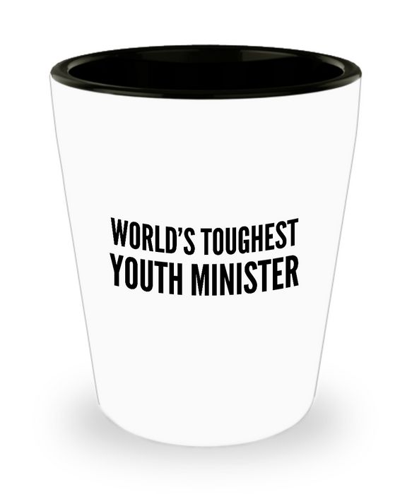 Friend Leaving Novelty Short Glass for Youth Minister