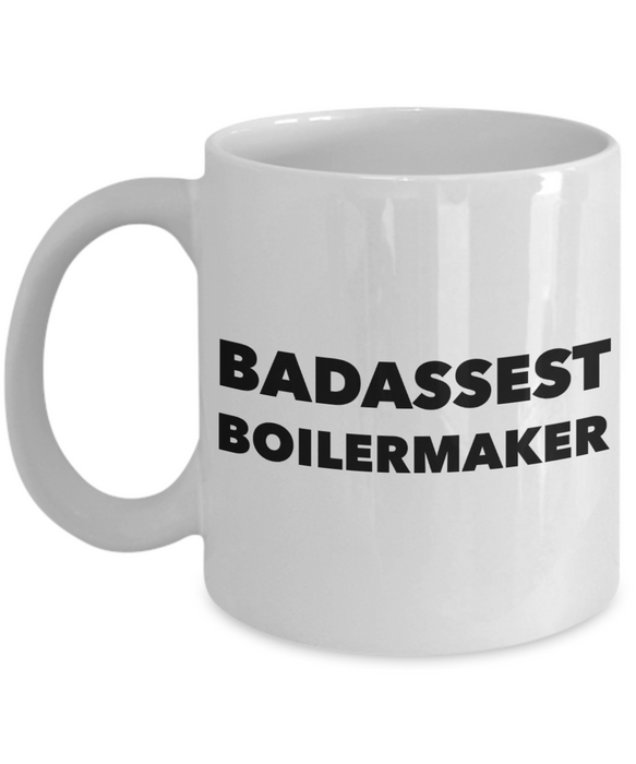 Badassest Boilermaker Gag Gift for Coworker Boss Retirement or Birthday - Ribbon Canyon