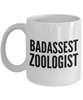 Badassest Zoologist, 11oz Coffee Mug  Dad Mom Inspired Gift - Ribbon Canyon