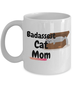 Badassest Cat Mom