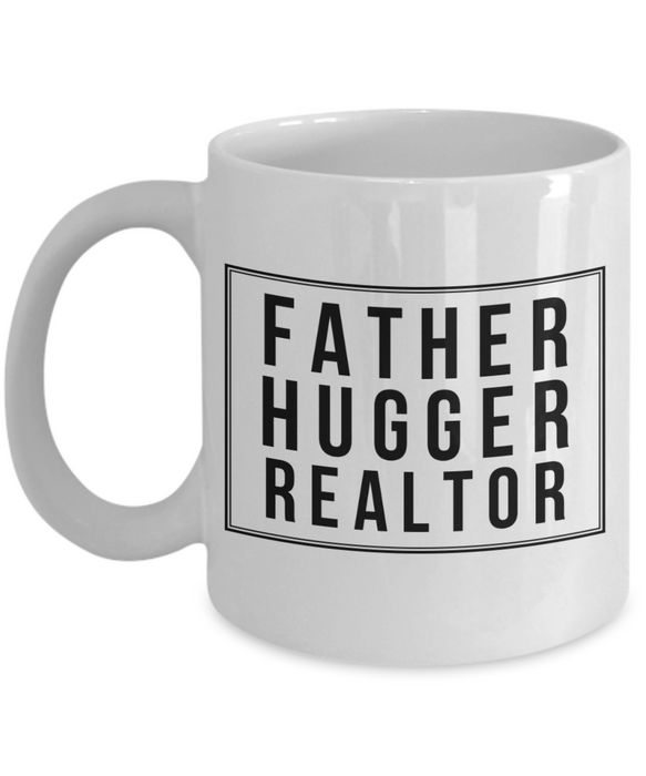Father Hugger Realtor Gag Gift for Coworker Boss Retirement or Birthday - Ribbon Canyon