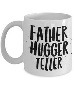 Father Hugger Teller Gag Gift for Coworker Boss Retirement or Birthday - Ribbon Canyon