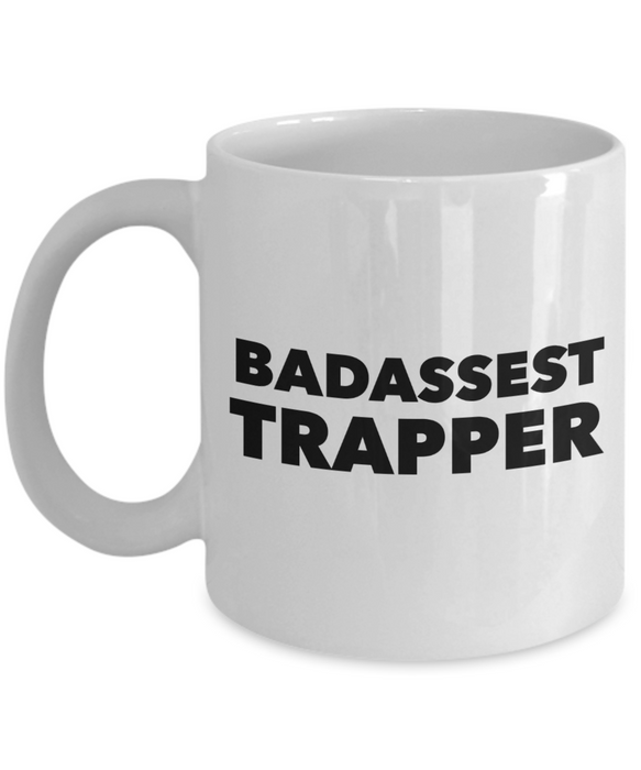 Badassest Trapper Gag Gift for Coworker Boss Retirement or Birthday - Ribbon Canyon