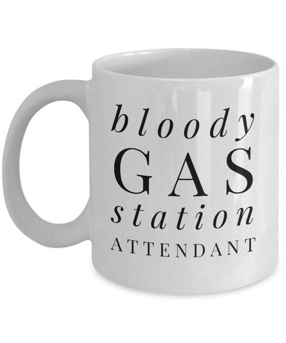 Bloody Gas Station Attendant Gag Gift for Coworker Boss Retirement or Birthday - Ribbon Canyon
