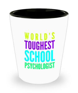 Creative School Psychologist Short Glass - Ribbon Canyon