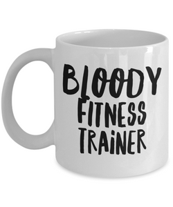 Bloody Fitness Trainer Gag Gift for Coworker Boss Retirement or Birthday - Ribbon Canyon