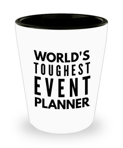 Friend Leaving Novelty Short Glass for Event Planner