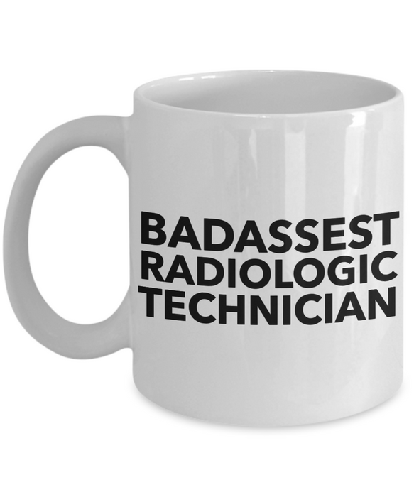 Badassest Radiologic Technician Gag Gift for Coworker Boss Retirement or Birthday - Ribbon Canyon
