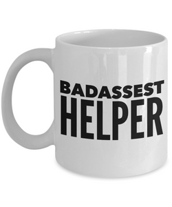 Badassest Helper Gag Gift for Coworker Boss Retirement or Birthday - Ribbon Canyon