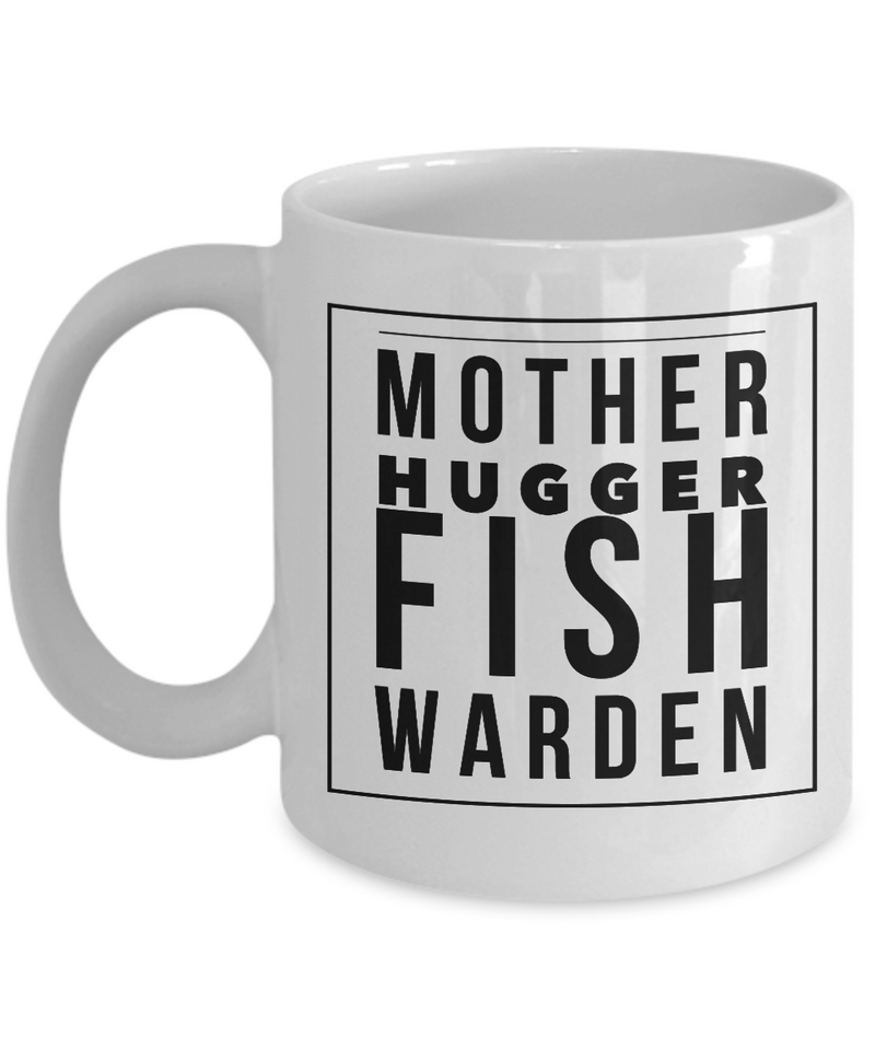Mother Hugger Fish Warden Gag Gift for Coworker Boss Retirement or Birthday - Ribbon Canyon