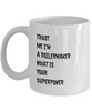 Trust Me I'm a Boilermaker What Is Your Superpower, 11Oz Coffee Mug Unique Gift Idea Coffee Mug - Father's Day / Birthday / Christmas Present - Ribbon Canyon