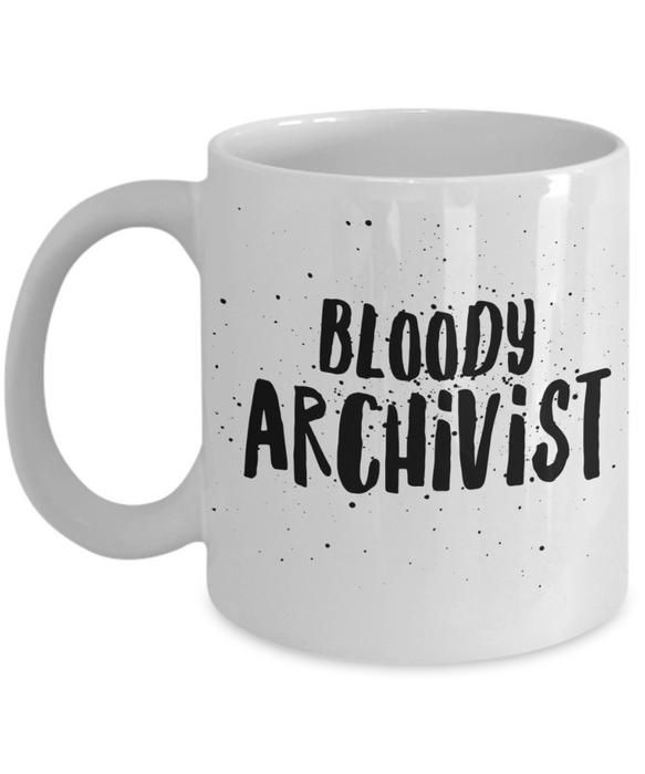 Bloody Archivist Gag Gift for Coworker Boss Retirement or Birthday - Ribbon Canyon