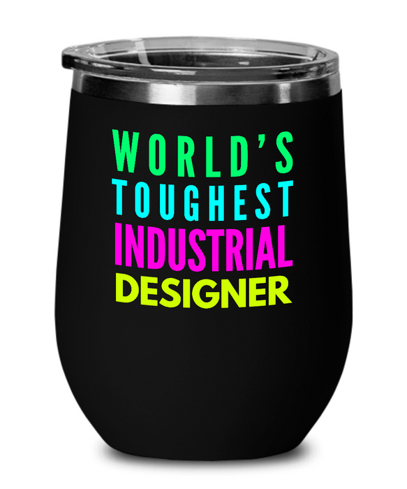 World's Toughest Industrial Designer Insulated 12oz Stemless Wine Glass - Ribbon Canyon