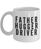Father Hugger Driver, 11oz Coffee Mug  Dad Mom Inspired Gift - Ribbon Canyon