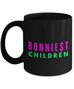 Bonniest Children - Family Gag Gifts For Mom or Dad Birthday Father or Mother Day -   11oz Coffee Mug - Ribbon Canyon