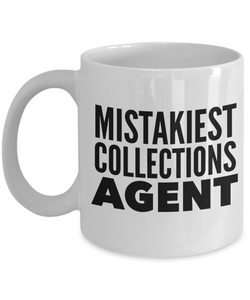 Mistakiest Collections Agent Gag Gift for Coworker Boss Retirement or Birthday - Ribbon Canyon