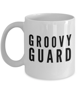 Groovy Guard - Birthday Retirement or Thank you Gift Idea -   11oz Coffee Mug - Ribbon Canyon