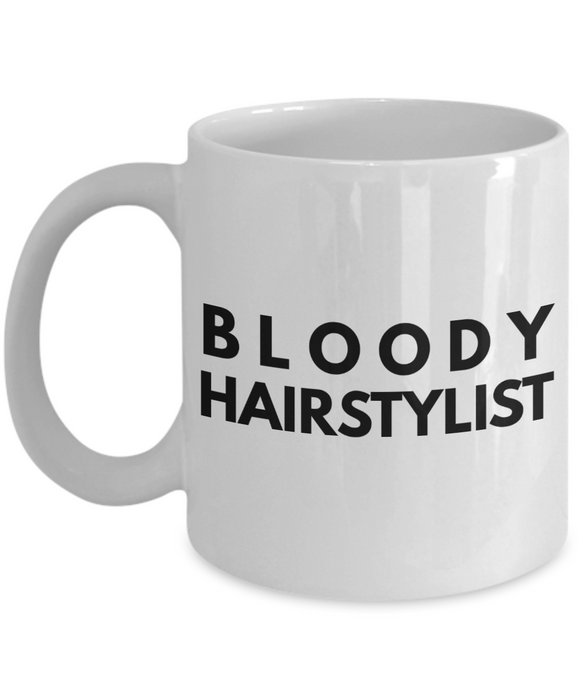 Bloody Hairstylist Gag Gift for Coworker Boss Retirement or Birthday - Ribbon Canyon