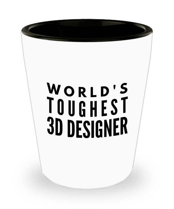 Friend Leaving Novelty Short Glass for 3D Designer