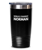 #GB Tumbler White NAME 3760 World's Toughest NORMAN