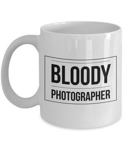 Bloody Photographer Gag Gift for Coworker Boss Retirement or Birthday - Ribbon Canyon