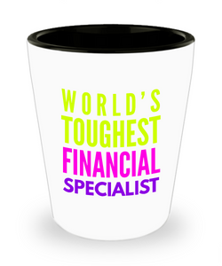 Creative Financial Specialist Short Glass - Ribbon Canyon