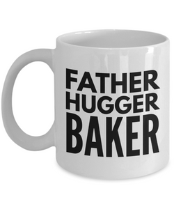 Father Hugger Baker Gag Gift for Coworker Boss Retirement or Birthday - Ribbon Canyon