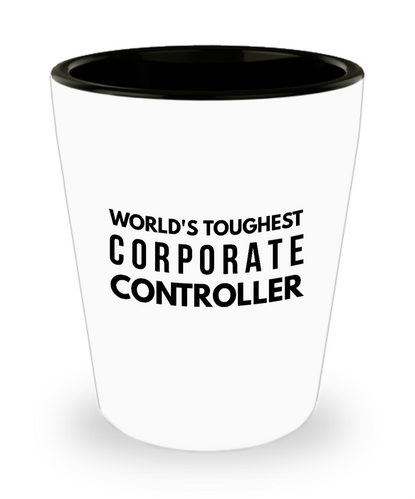 Friend Leaving Novelty Short Glass for Corporate Controller